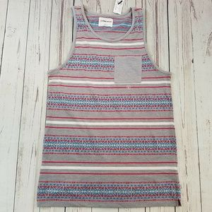 On The Byas Men's Pocket Tank Top Size Small